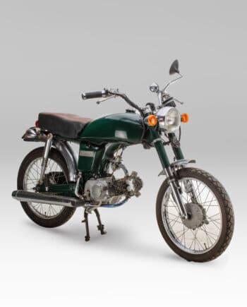 Honda CD50 Groen Scrambler met kenteken - https://fourstrokebarn.com