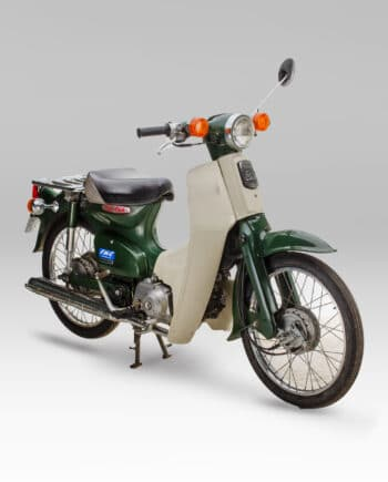 Honda C50 Super Cub Groen met kenteken