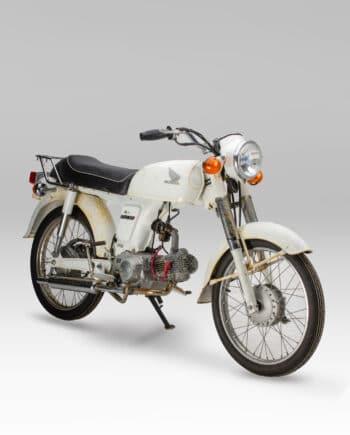 Honda Benly 50S Wit - 7679 km - https://fourstrokebarn.com