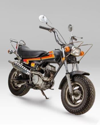 Honda CY50 Nauty Dax Black - 10231 km