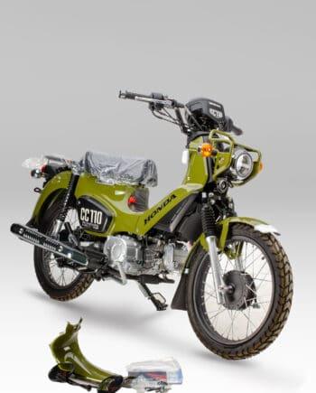 Honda CC110 Groen - Nieuw - https://fourstrokebarn.com