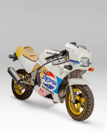 Suzuki GAG 50 Wit-Geel
