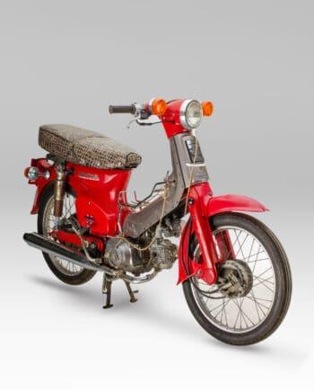 Honda C50 STD Super Cub Rood - 11883 km