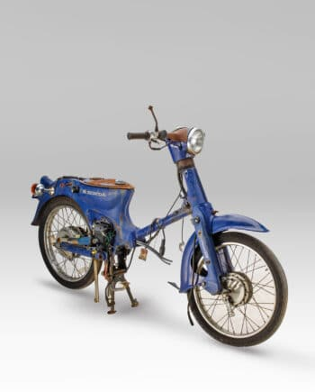 Honda C50 Super Cub Blauw - Rolling Frame
