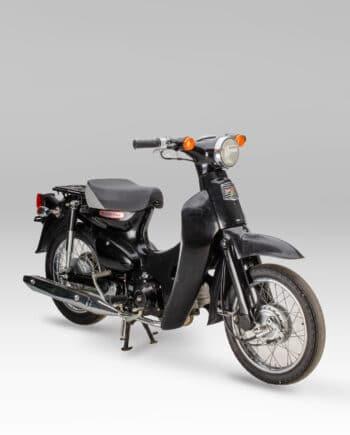 Honda C50L Little Cub FI Injectie Zwart - 17693 km