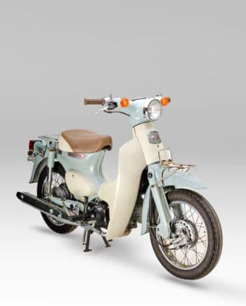 Honda C50L Little Cub FI Injectie Mintgroen - 39232 km