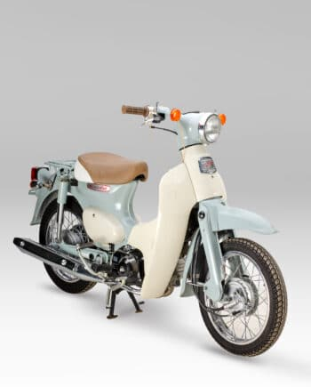 Honda C50L Little Cub FI Injectie Mintgroen - 3665 km
