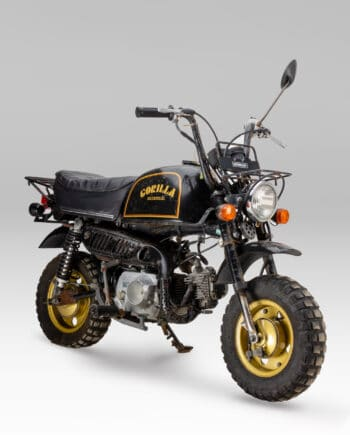 Honda Gorilla Zwart-Goud - 24449 km - https://fourstrokebarn.com