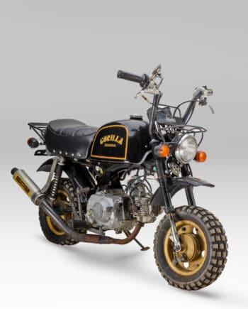 Honda Gorilla Zwart-Goud - 7122 km - https://fourstrokebarn.com