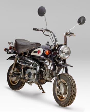 Honda Monkey Z50J2 purple - 4534 km