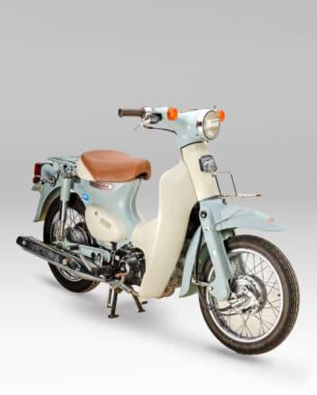 Honda C50L Little Cub FI Injectie Mintgroen - 30091 km
