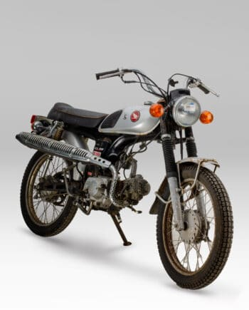 Honda CL50 Benly Zilver