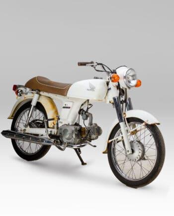 Honda Benly 50S Wit - https://fourstrokebarn.com