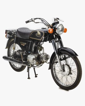 Honda CD50 Benly Zwart