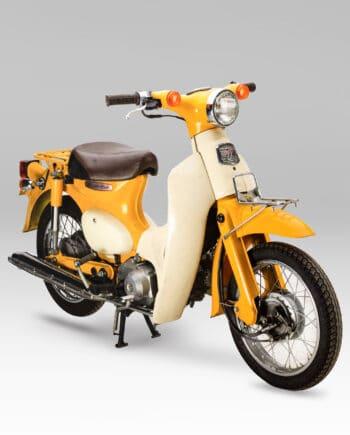 Honda C50L Little Cub Geel - 41563 km