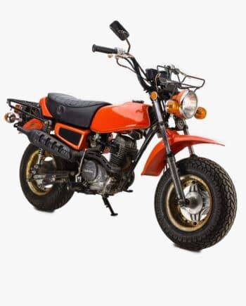 Honda CY50 R&P Orange - 1714 km