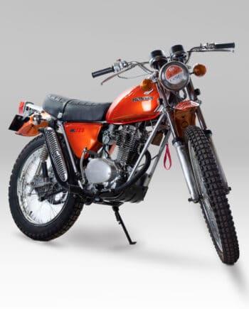 Honda SL125 Oranje Gerestaureerd - https://fourstrokebarn.com