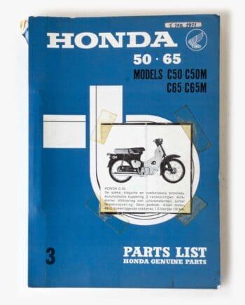 Parts list Honda C50 C65 (7937) - https://fourstrokebarn.com