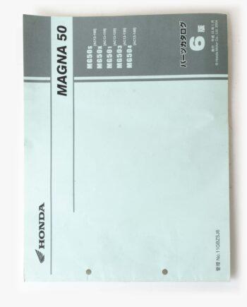 Parts list Honda Jazz 50 Magna 50 (7943) - https://fourstrokebarn.com