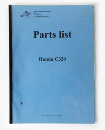 Parts list kopie Honda C320 (7946) - https://fourstrokebarn.com