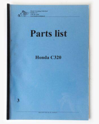 Parts list kopie Honda C320 (7947) - https://fourstrokebarn.com