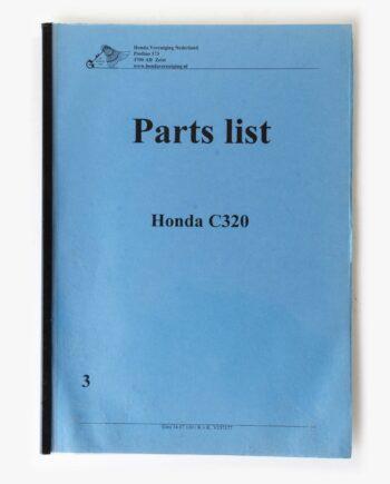 Parts list kopie Honda C320 (7948) - https://fourstrokebarn.com