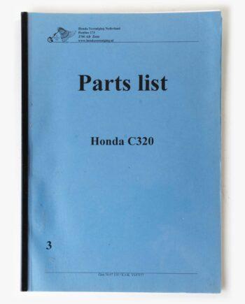 Parts list kopie Honda C320 (7949) - https://fourstrokebarn.com