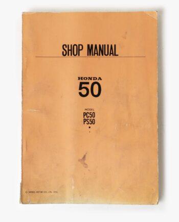 Werkplaatshandboek Honda PC50 PS50 (7951) - https://fourstrokebarn.com