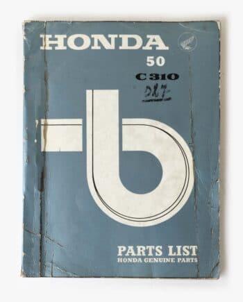 Parts list Honda C310 (7955) - https://fourstrokebarn.com