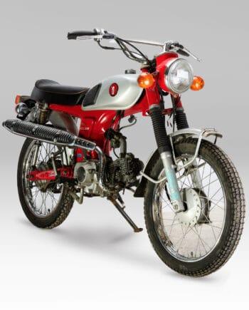 Honda CL50 Benly Rood - 20310 km