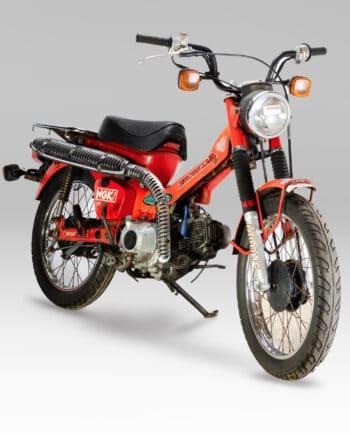Honda CT110 Trail Rood - 87814 km - https://fourstrokebarn.com