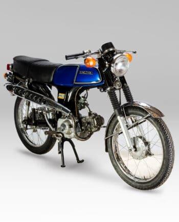 Honda SS50 Blauw - 47698 km - https://fourstrokebarn.com