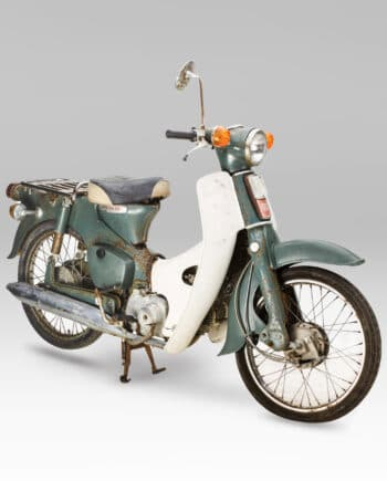 Honda C50 OT Super Cub Groen - 7542 km - https://fourstrokebarn.com