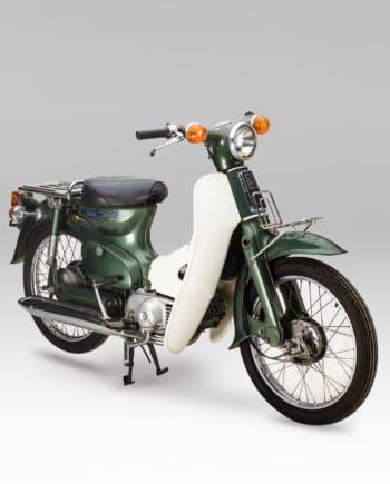 Honda C50 k1 Super Cub Groen