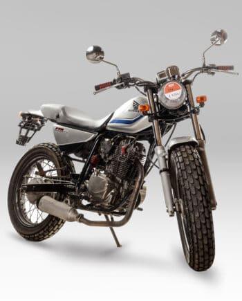 Honda FTR223 Zilver - 37604 km - https://fourstrokebarn.com