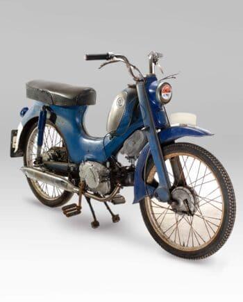 Honda C310A Blauw met kenteken - 4655 km - https://fourstrokebarn.com
