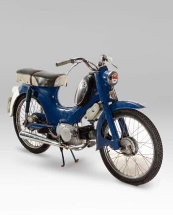 Honda C310A Blauw met kenteken - 7660 km - https://fourstrokebarn.com