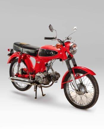 """Honda SS50 """"k0"""" Rood met kenteken - 35535 km - https://fourstrokebarn.com"""