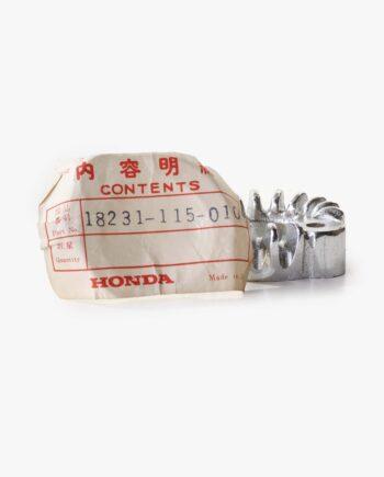 Handvatten set grijs NOS Honda C310 C320 (9606) - https://fourstrokebarn.com