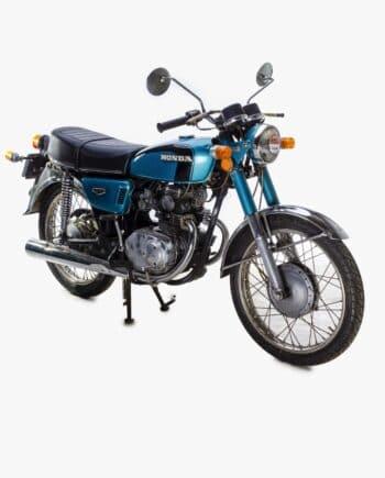 Honda CB125 K5 Blauw met kenteken - 13073 km - https://fourstrokebarn.com