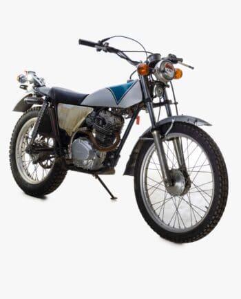 Honda TL125 Baiarusu Wit-Blauw - 6587 km - https://fourstrokebarn.com