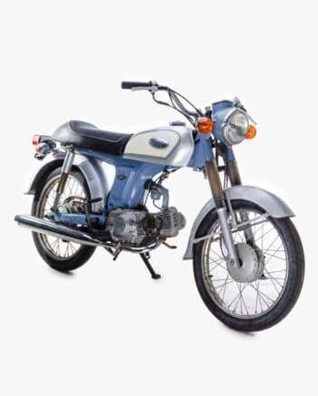 Honda Ape 50 Geel - 3935 km - https://fourstrokebarn.com