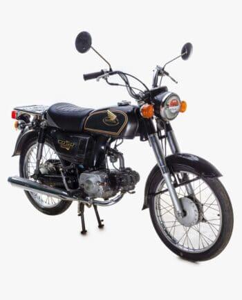 Honda CD50 Benly Zwart met kenteken - 29083 km - https://fourstrokebarn.com