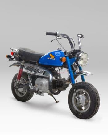 Honda Monkey blauw C14_023
