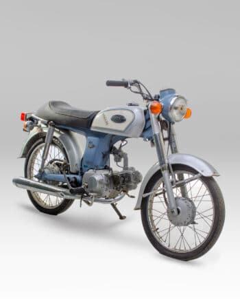 Honda Benly 50S blauw C14_041