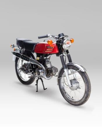 Honda ss50 rood 28885