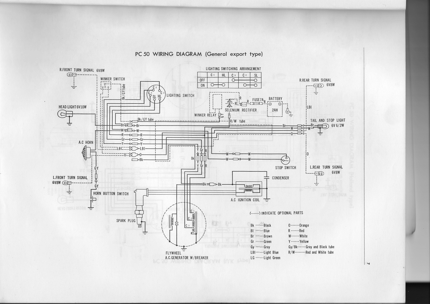 Cb50 Wiring Diagram Trusted Diagrams Cb175 1214006977 Pc50 Img U00b7 Fourstrokebarn Honda Cb125 Fork Lift